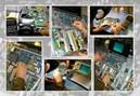 Panasonic PT-LP60 hư bóng đèn
